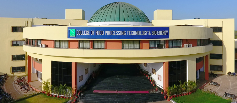 College of Food Processing Technology & Bio Energy, Anand