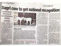 Dagri Cow to Get National Recognition
